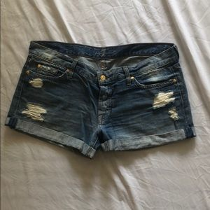 7 For All Mankind - Jean Shorts